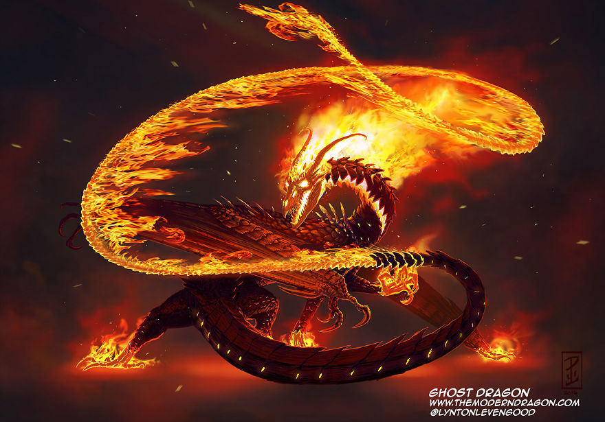 Ghost Rider Dragon