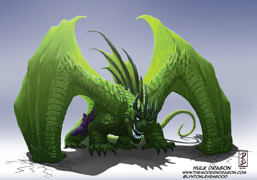 Hulk Dragon