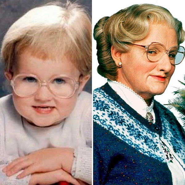 11. Robin Williams (Mrs. Doubtfire)