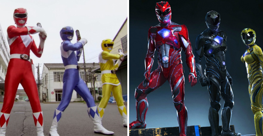 #13 Power Rangers 1993 And 2017