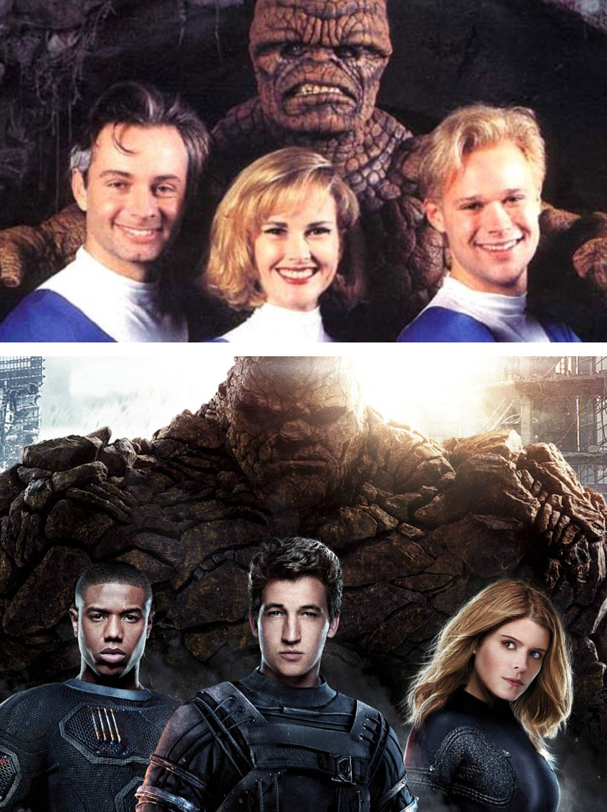 #23 Fantastic Four 1994 And 2015