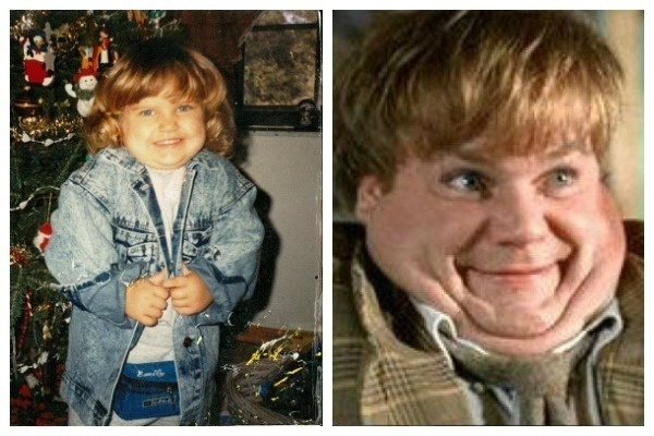 6. Chris Farley (Girlie!!!)