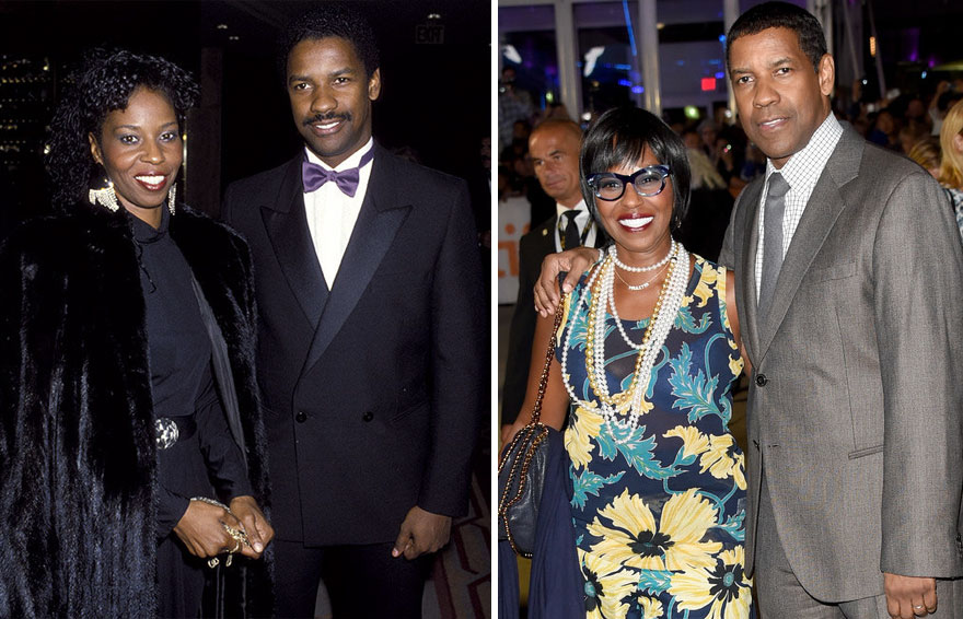 #11 Denzel And Pauletta Washington - 39 Years Together