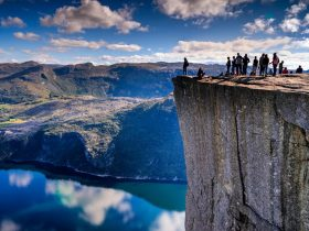12. Edge of Preikestolen, Forsand, Norway_R