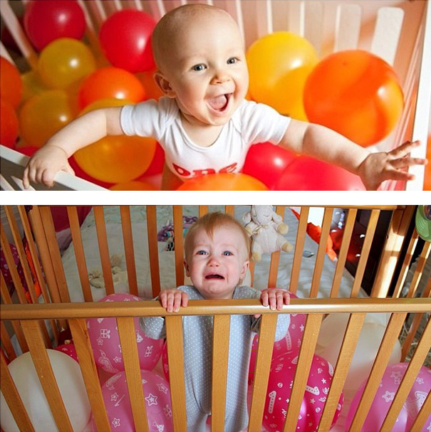 #15 Baby With Balloons. Nailed It