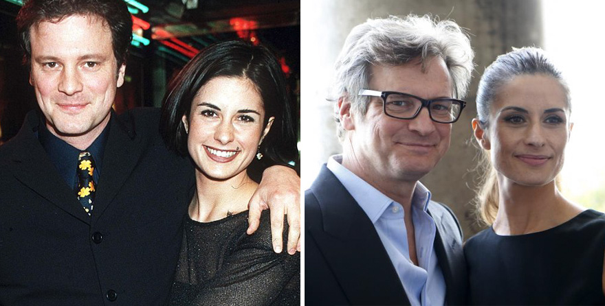#16 Colin Firth And Livia Giuggioli - 19 Years Together
