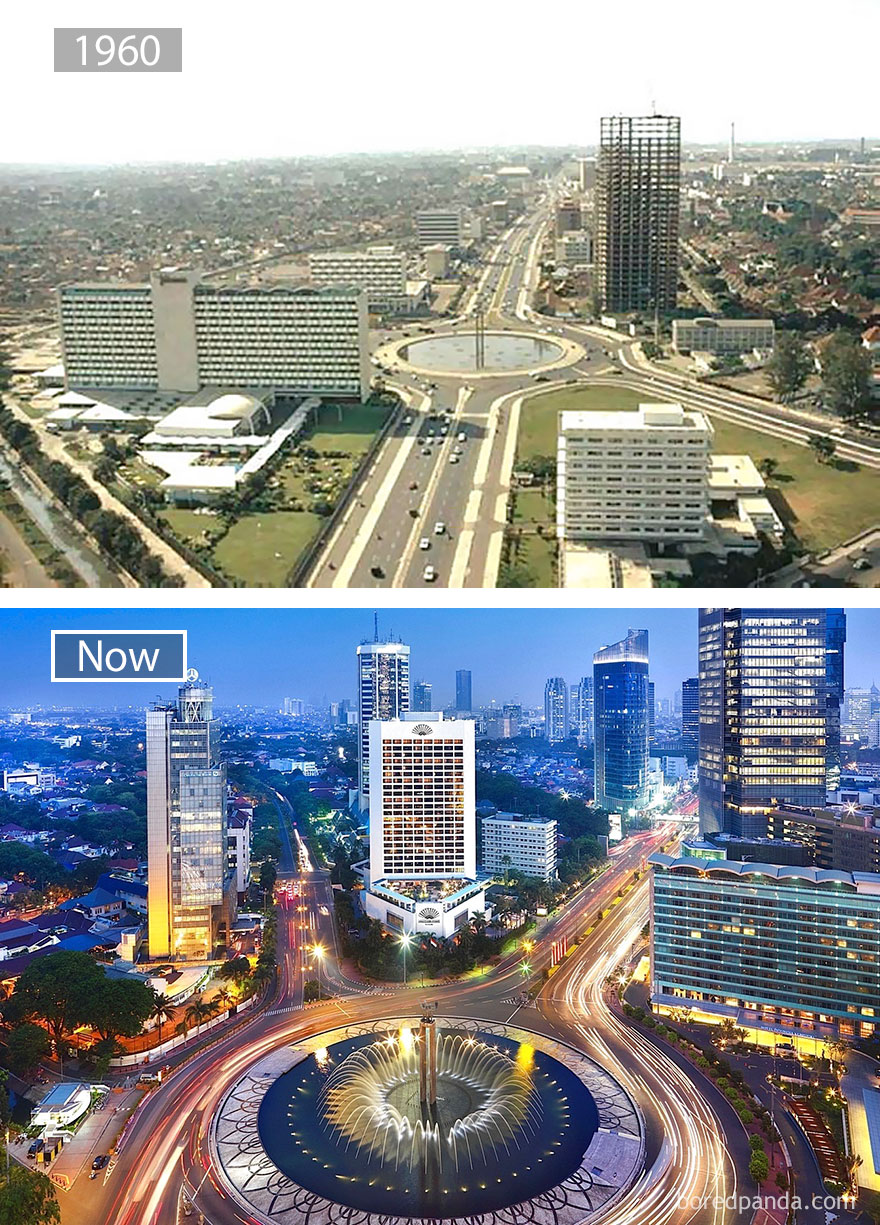 #17 Jakarta, Indonesia 1960 And Now