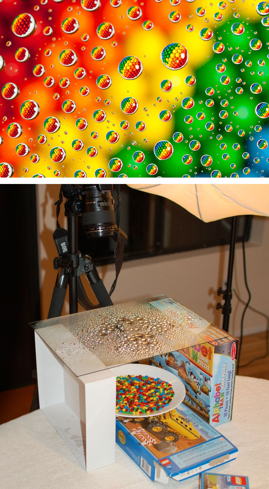#7 M&m's In Water Drops