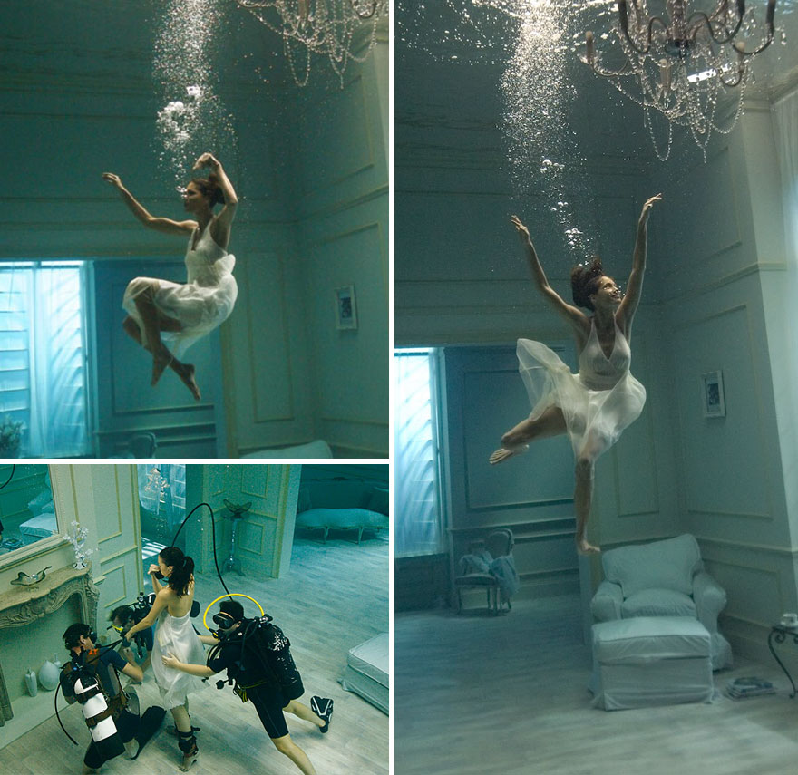 #19 Underwater Photoshoot