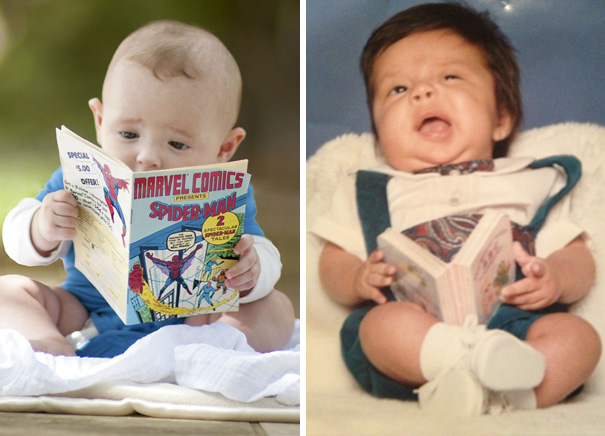 #22 Cute Baby Reading A Book. Nailed It