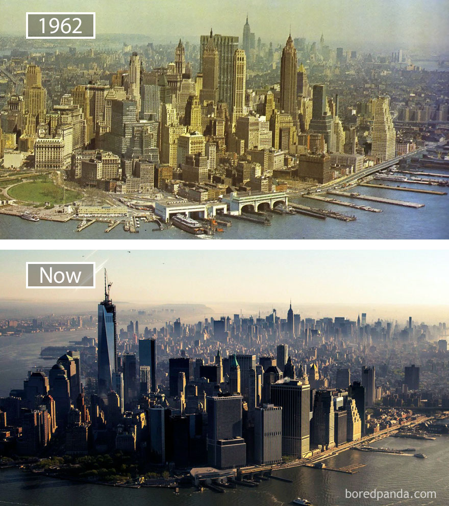 #22 New York, Usa - 1962 And Now