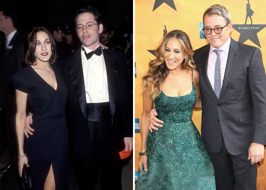 #22 Sarah Jessica Parker And Matthew Broderick - 19 Years Together