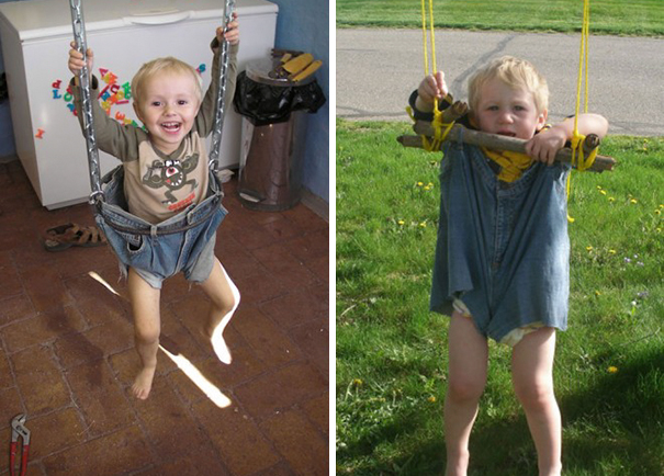 #23 DIY Jeans Swing. Nailed It