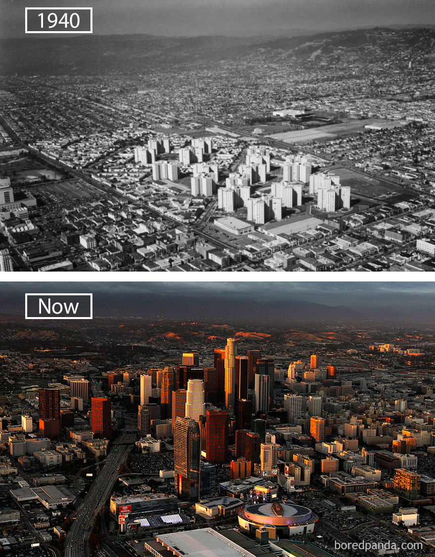 #23 Los Angeles, Usa - 1940 And Now