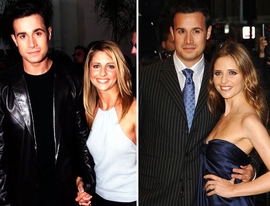 #23 Sarah Michelle Gellar And Freddie Prinze Jr. - 14 Years Together