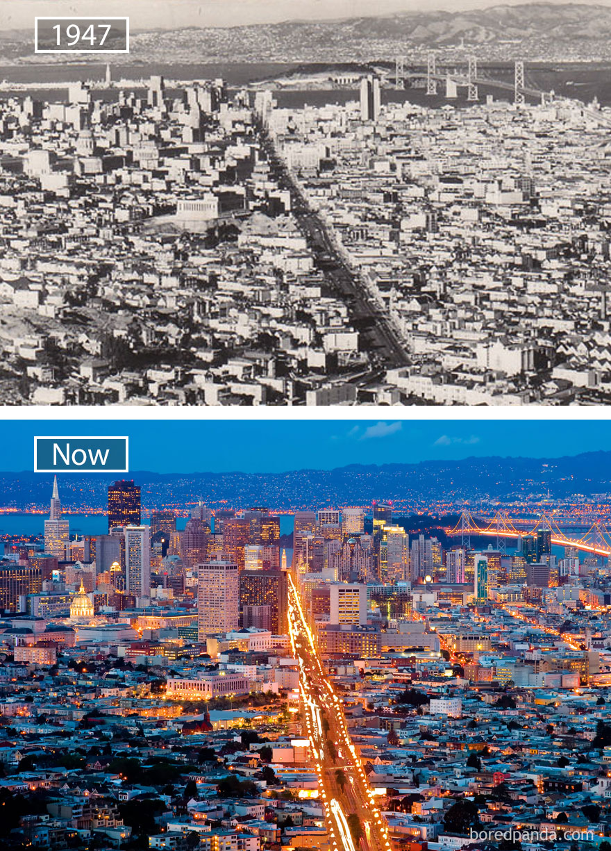 #26 San Francisco, Usa - 1947 And Now