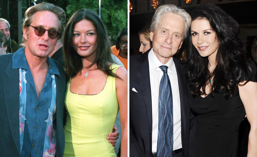 #29 Catherine Zeta-jones And Michael Douglas - 18 Years Together