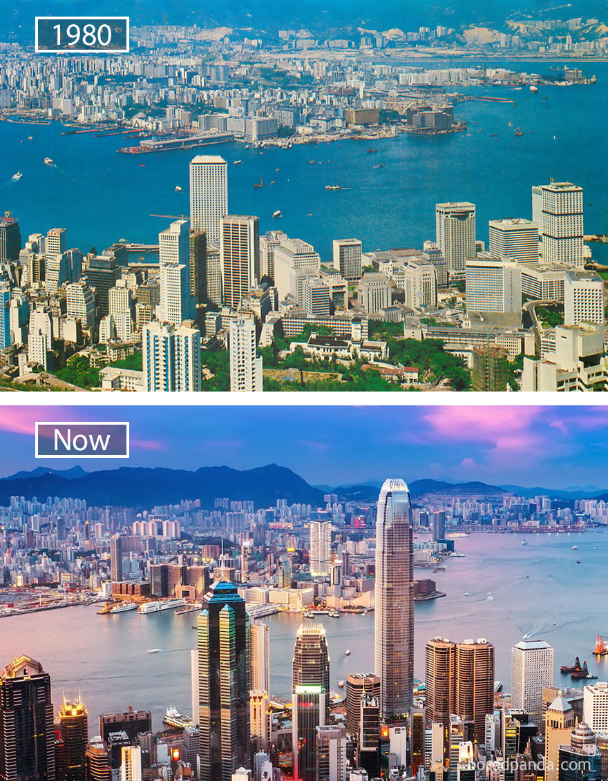 #30 Hong Kong, China - 1980 And Now