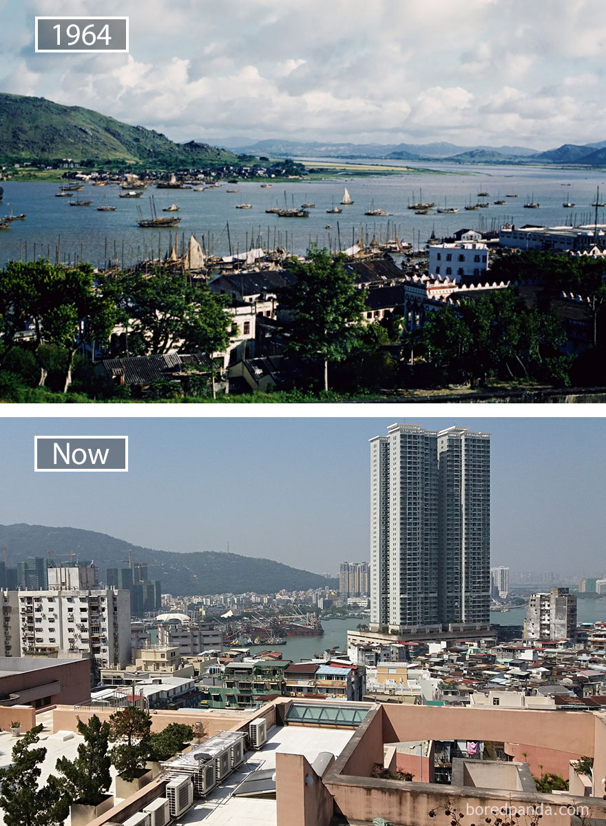 #31 Macau, China - 1964 And Now