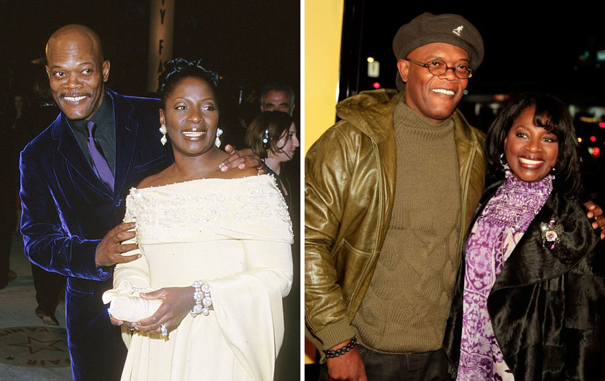 #5 Samuel L. Jackson And Latanya Richardson - 36 Years Together