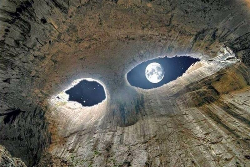 8. Eyes of the Devil, Prohodna Cave, Bulgaria_R