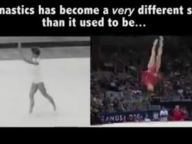 Gymnastics isn't what it used to be… and that's a good thing._R